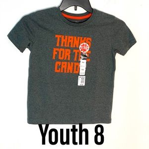 Unisex M 8 Youth Halloween Tee Shirt Top T-Shirt